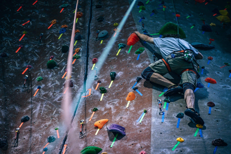segmento dei tour e attività in espansione _ arrampicata