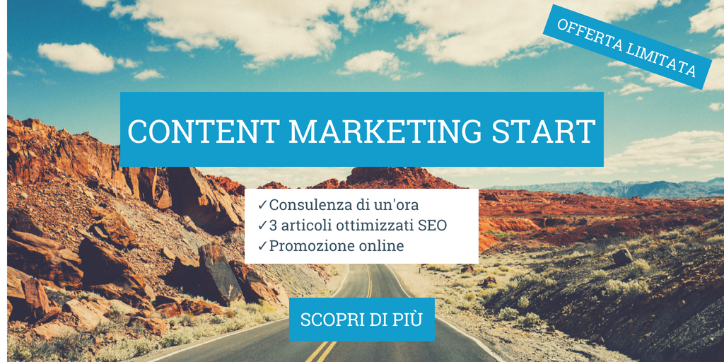 CTA_Pacchetto content marketing start turismo imprese turistiche