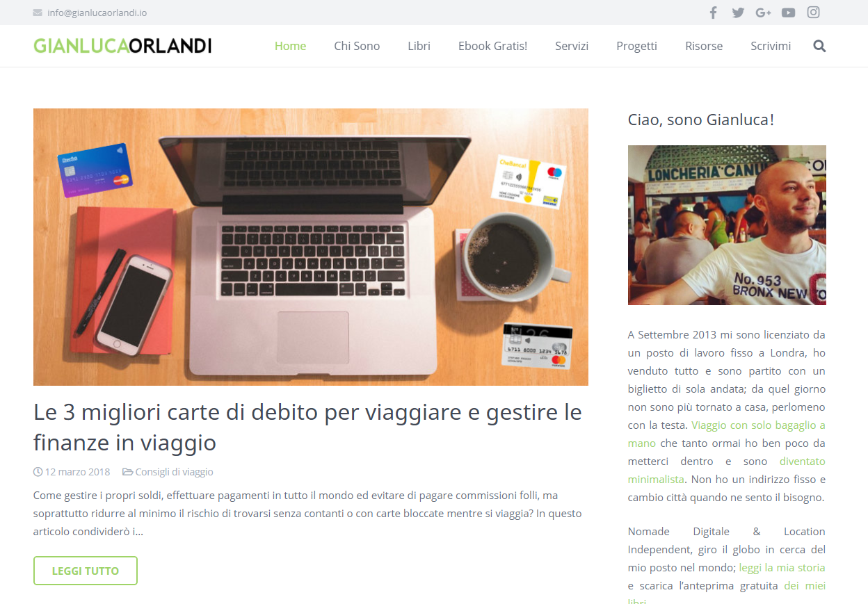influencer marketing travel blog turismo_ Gianluca Orlandi travel blogger