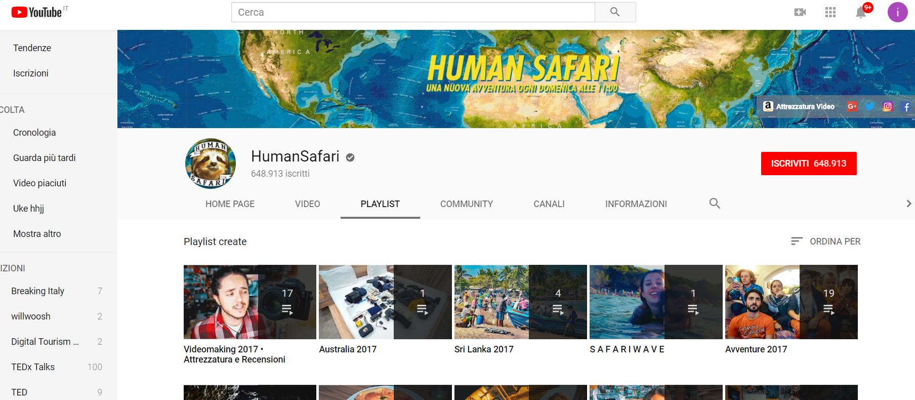 influencer marketing travel blog turismo_ Human Safari_ distribuzione travel blogger