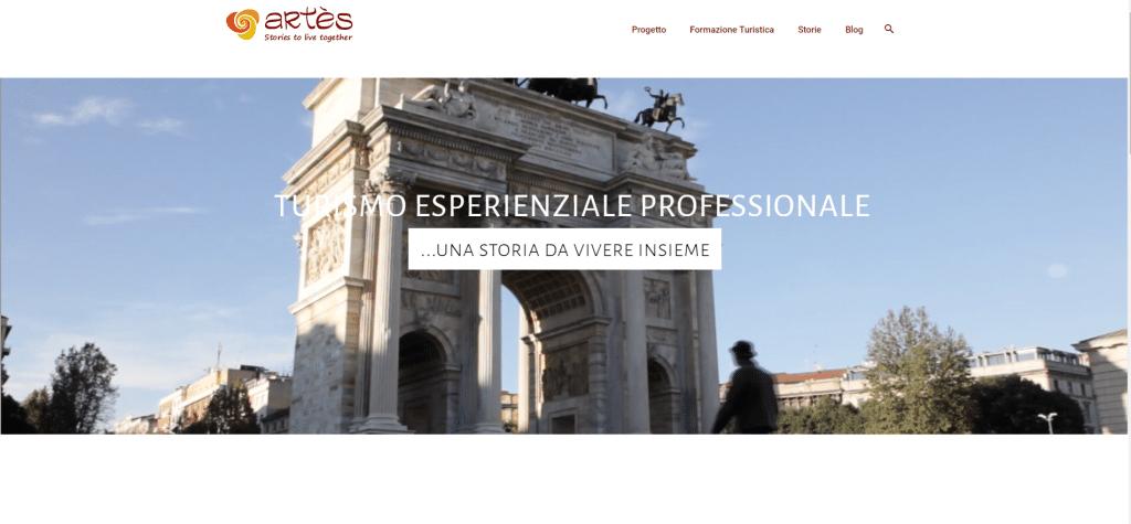 Turismo Esperienziale Professionale Progetto Artès - Progetti nel Portfolio d'Agenzia__ xeniapro