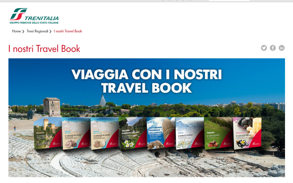 trenitalia content marketing esempio_travel